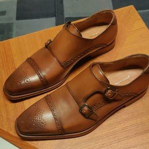 Antonio Maurizi Monk Italian Loafers NIB